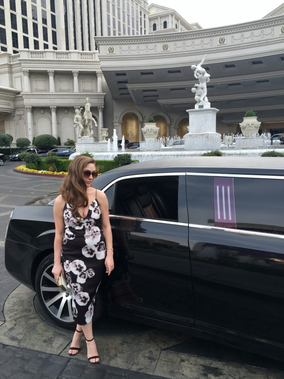 ASOS Dress, Limo Las Vegas 1