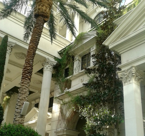 Caesars Palace Wedding Garden 3