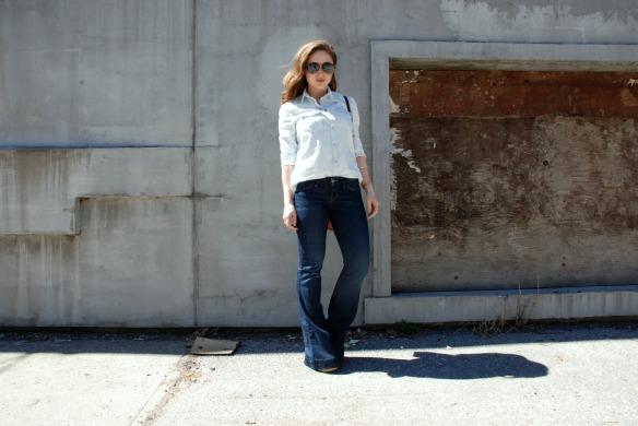 Denim Flares Style Blog Toronto Blogger Style 1