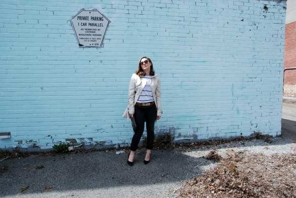 style blog leather skinnies trench coat style blogger 3