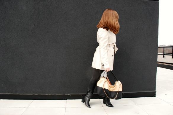 Trench coat zara spring style blogger toronto 1
