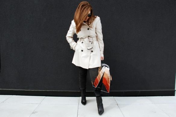 Trench coat zara spring style Toronto blogger style 2