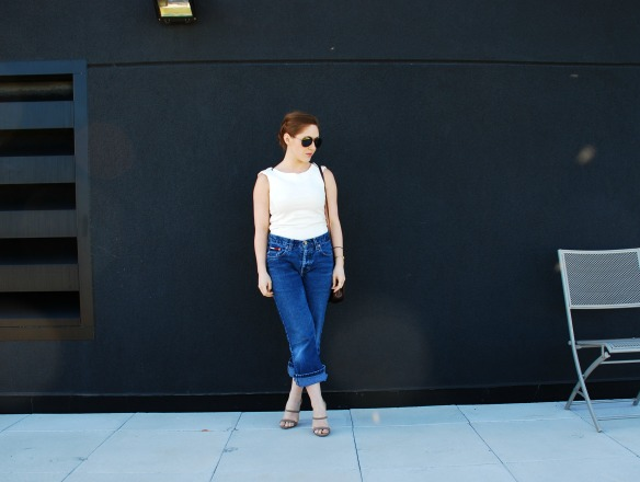 vintage boyfriend jeans style blogger 2