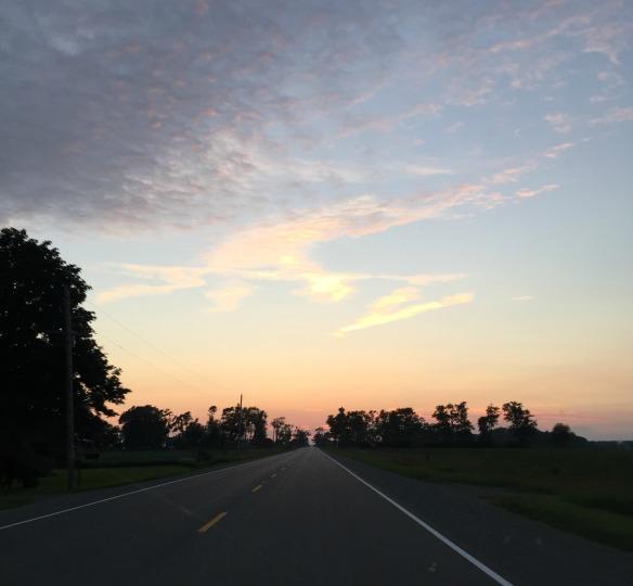 toronto style blogger roadtrip sunset 2