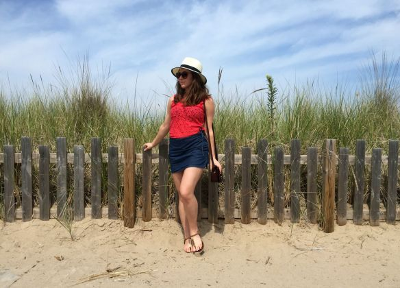 toronto style blogger summer style denim skirt 3