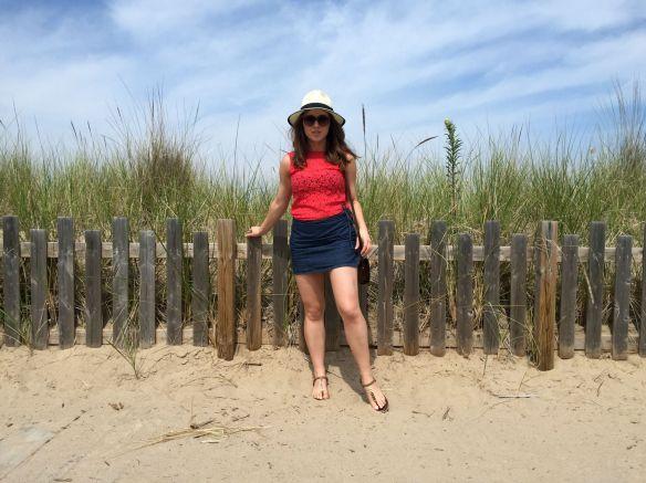 toronto style blogger summer style denim skirt 4