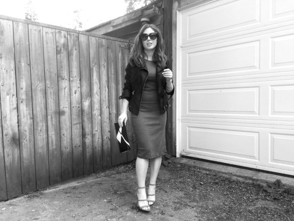 toronto style blogger summer style grey dress 10