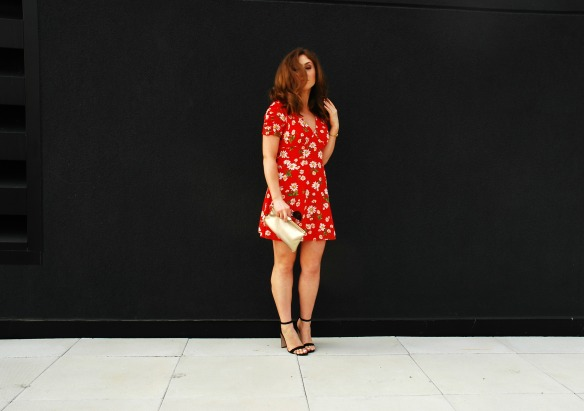 toronto style blogger summer style red sundress 10