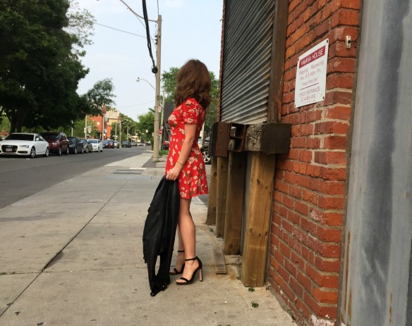 toronto style blogger summer style red sundress 12