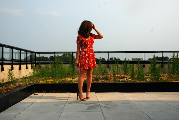 toronto style blogger summer style red sundress 2