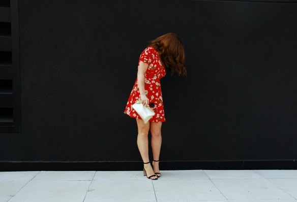 toronto style blogger summer style red sundress 4
