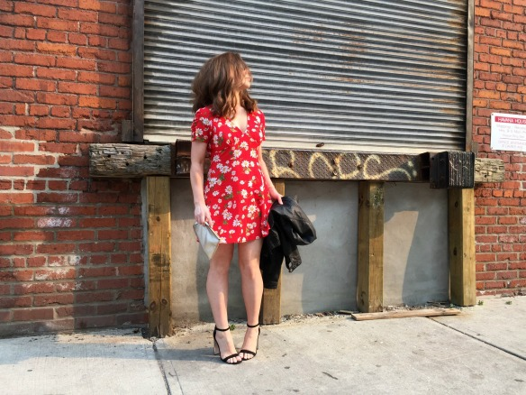 toronto style blogger summer style red sundress 8