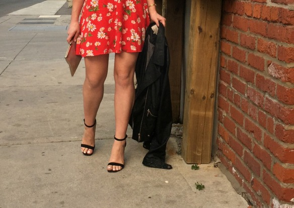 toronto style blogger summer style red sundress 9