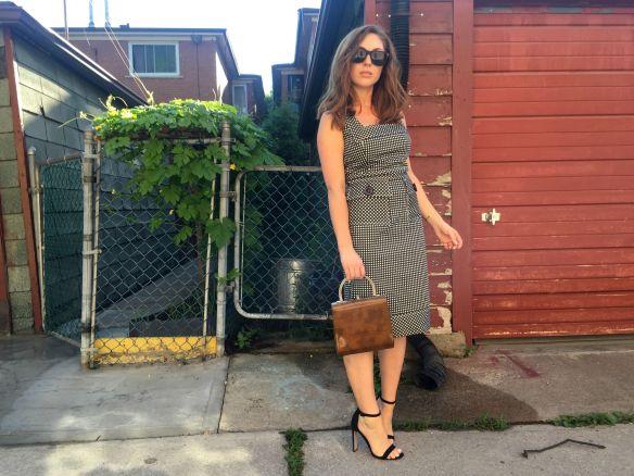 Toronto style blogger gingham dress summer style 10