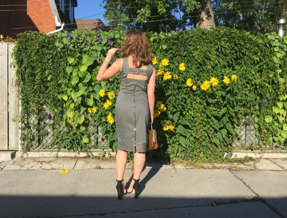 toronto style blogger gingham dress summer style 3