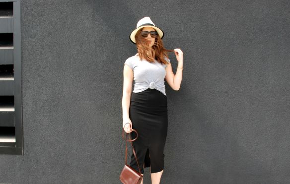 toronto style blogger summer style midi skirt strappy sandals 9