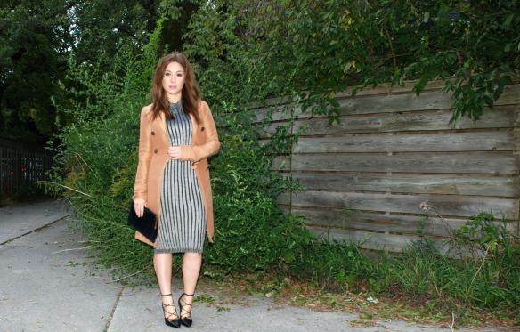 sweater dress toronto style blogger 1