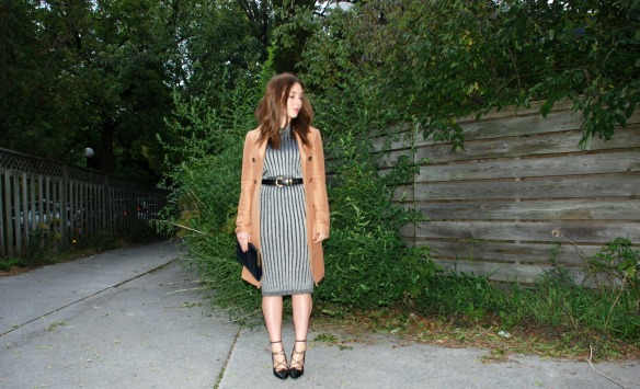 sweater dress toronto style blogger 5