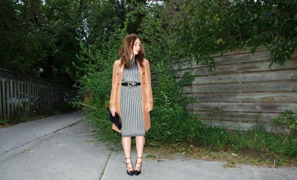 sweater dress toronto style blogger 5